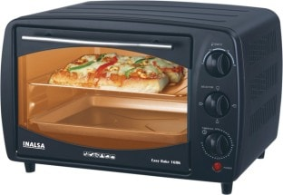 Inalsa Easy Bake 16BK 16 L Oven Toaster Grill (Black)