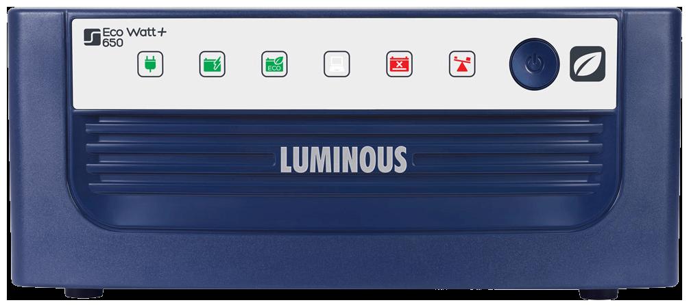 Luminous Eco Watt 650 Square Wave Inverter (Blue)