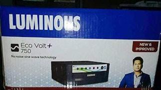 Luminous Eco Watt Plus 750 Pure Sine Wave Inverter (Grey)