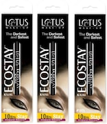 Lotus Herbals Ecostay Kajal (Black, 1.2GM, Pack of 2)