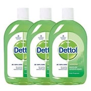Dettol Effective Protection Antiseptic Liquid (200ML, Pack of 3)