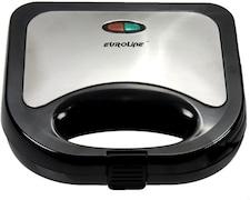 Euroline EL003 Grill Sandwich Maker (Black)