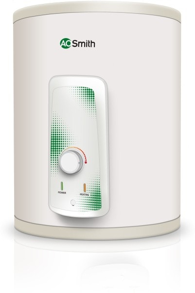 A.O. Smith 25L Electric Water Geyser (HSE-VAS-25, White)