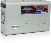Microtek EM4160 Plus Digital Voltage Stabilizer (Grey)