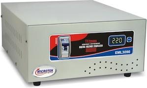 Microtek EML3090 Voltage Stabilizer (Grey)
