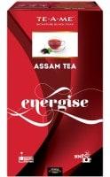 TE-A-ME Energise Assam Black Tea (200GM, 100 Pieces)