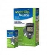 Abott Entrust Acnesia Glucometer (5 Strips, Grey)