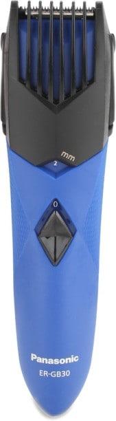 Panasonic ER-GB30-A44B Beard & Moustache Trimmer (Blue)