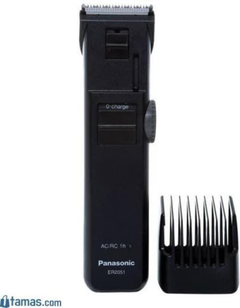 Panasonic ER-2051K Beard & Moustache Trimmer (Black)