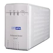 OPTI-UPS ES550C-2X UPS (White)