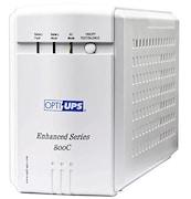 OPTI-UPS ES800C-2X UPS (White)