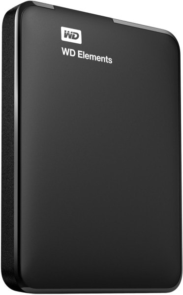 WD Elements WDBUZG0010BBK-NESN 1TB External Hard Disk (Black)