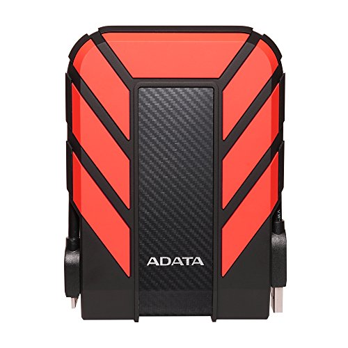 Adata HD710 PRO 1TB External Hard Disk (Red)