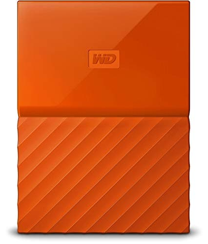 WD My Passport WDBYFT0030BBK-WESN 3TB External Hard Disk (Orange)