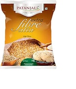 Patanjali Extra Fibre Wheat Flour (1KG, Pack of 2)