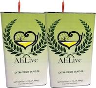 AhLive Extra Virgin Olive Oil (5LTR, Pack of 2)