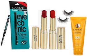 lakme Eyeconic Kajal (100ML, Pack of 4)