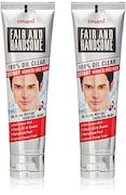 Emami Fair And Handsome Face Wash (100GM, Pack of 2)