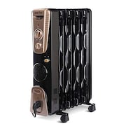 Kenstar Ferno 11 Oil Filled Room Heater (Black & Gold)
