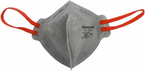 Honeywell FF-2100 2.5 Dust Protection Anti Pollution Mask (Grey, Pack of 10)