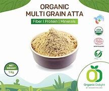 Organic Delight Fibre Protein Minerals Multigrain Flour (1KG)