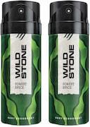 Wild Stone Forest Spice Deodorant Combo Deodorant (150ML, Pack of 2)