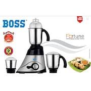 Boss Fortune 750W Mixer Grinder (Black & Silver, 3 Jar)