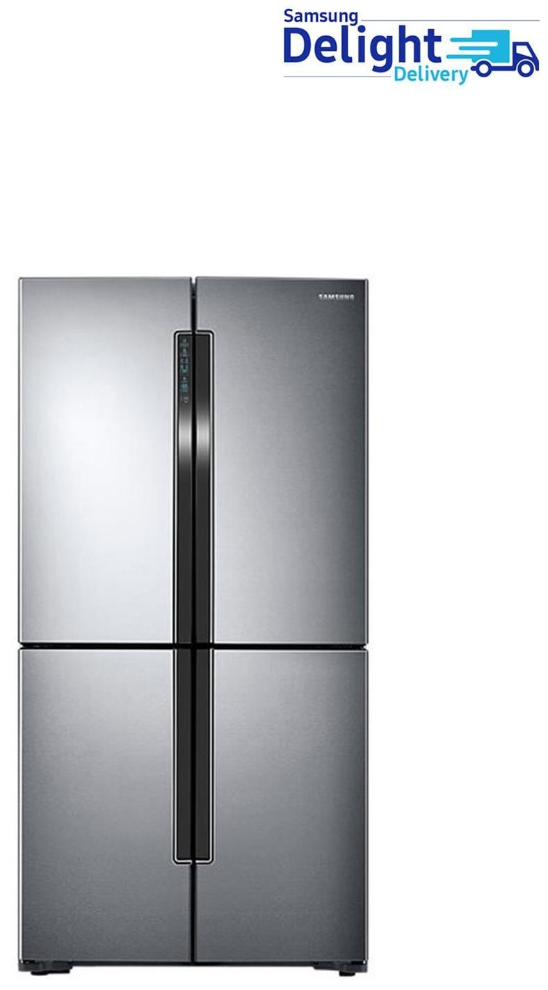 Samsung 693 L Frost Free French Door 5 Star Refrigerator (RF60J9090SL, Easy Clean Steel)