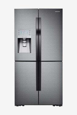 Samsung 893 L Frost Free French Door 5 Star Refrigerator (RF858QALAX3, Grey)