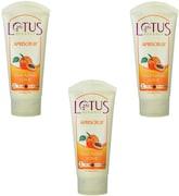 Lotus Herbals Fresh Apricot Scrub (180GM, Pack of 3)
