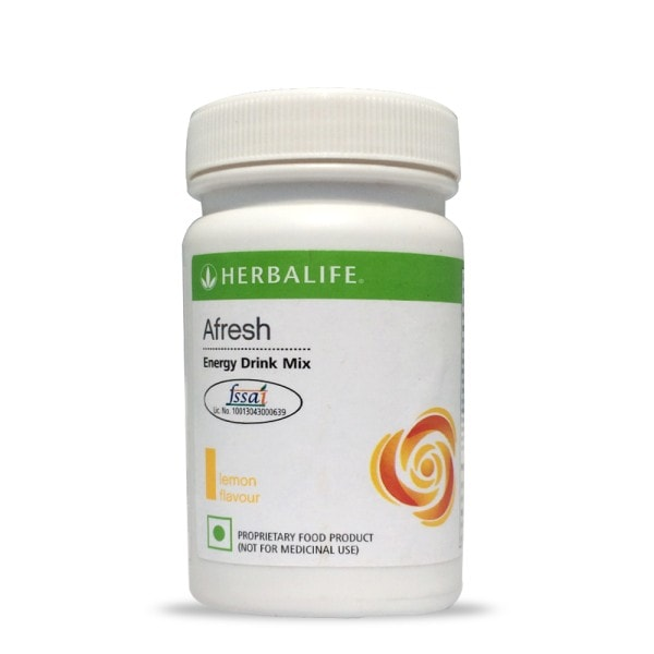 Herbalife Afresh Energy Drink Mix (Lemon, 50GM)