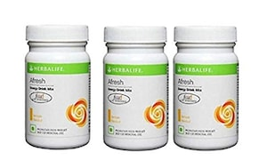 Herbalife Afresh Energy Drink Mix (Combo Pack, 50GM, Pack of 3)