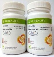Herbalife Afresh Energy Drink Mix (Elaichi, 50GM, Pack of 2)