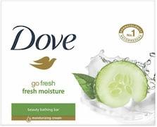 Dove Fresh Moisture Soap (Pack of 3)