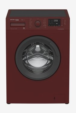 Voltas 6 kg Fully Automatic Front Load Washing Machine (BEKO WFL60RS, Maroon)