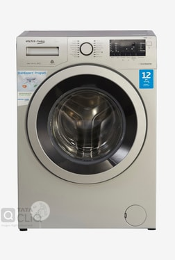 Voltas 8 kg Fully Automatic Front Load Washing Machine (BEKO WFL80S, Grey)