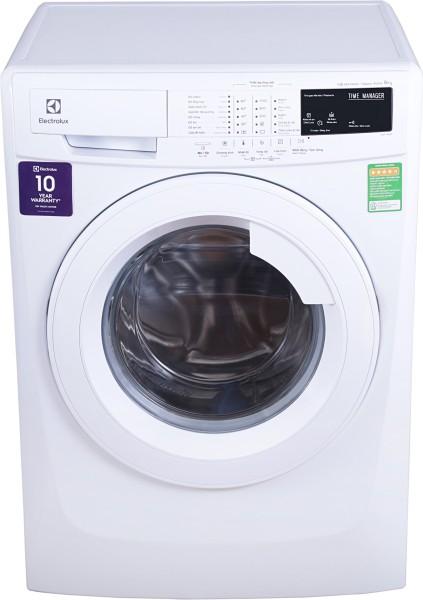 Electrolux 8 kg Fully Automatic Front Load Washing Machine (EWF10843, White)