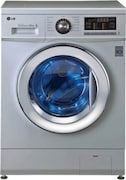LG 7 kg Fully Automatic Front Load Washing Machine (FH296HDL24, Luxury Silver)