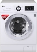 LG 7 kg Fully Automatic Front Load Washing Machine (FH2G6HDNL22, White)
