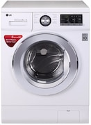 LG 8 kg Fully Automatic Front Load Washing Machine (FH4G6TDNL22, White)