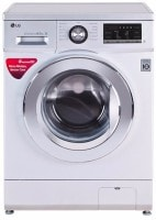 LG 8 kg Fully Automatic Front Load Washing Machine (FH4G6TDNL42, Silver)