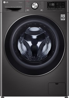 LG 10.5 Kg Fully Automatic Front Load Washing Machine (FHD1057STB, Black)