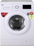 LG 6 kg Fully Automatic Front Load Washing Machine (FHM1006ADW, White)