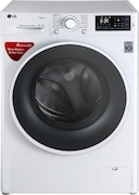 LG 6 kg Fully Automatic Front Load Washing Machine (FHT1006SNW, White)