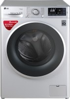 LG 7 kg Fully Automatic Front Load Washing Machine (FHT1007SNL, Silver)