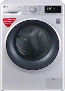 LG 6.5 kg Fully Automatic Front Load Washing Machine (FHT1065SNL, Silver)