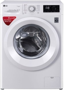 LG 6 kg Fully Automatic Front Load Washing Machine (FHT11006HNW, White)