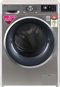 LG 7 kg Fully Automatic Front Load Washing Machine (FHT1207ZNS, Silver)