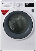 LG 6.5 kg Fully Automatic Front Load Washing Machine (FHT1265SNW, White)
