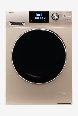 Haier 7.5 kg Fully Automatic Front Load Washing Machine (HW75-BD12756NZP, Gold)